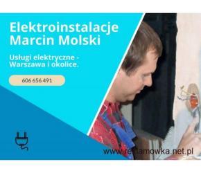 Marcin Molski - usługi elektryczne w Warszawie
