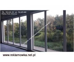 Folie Antywłamaniowe na okna P2A Certyfikat Oklejanie szyb -szkło bezpieczne 1B1