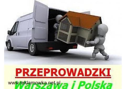 Profesjonalne przeprowadzki Warszawa