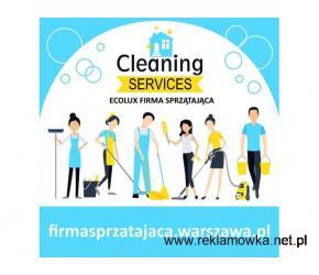 EcoLux Firma Sprzątająca | sprzątanie biur Warszawa