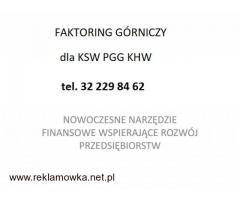 FAKTORING GÓRNICZY tel. 32 229 84 62
