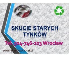Demontaż podłogi, skucie  kafli, skuwanie cena tel 504-746-203, Wrocław, Rozebranie starej podłogi