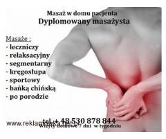 Masaż Kręgosłupa - Warszawa