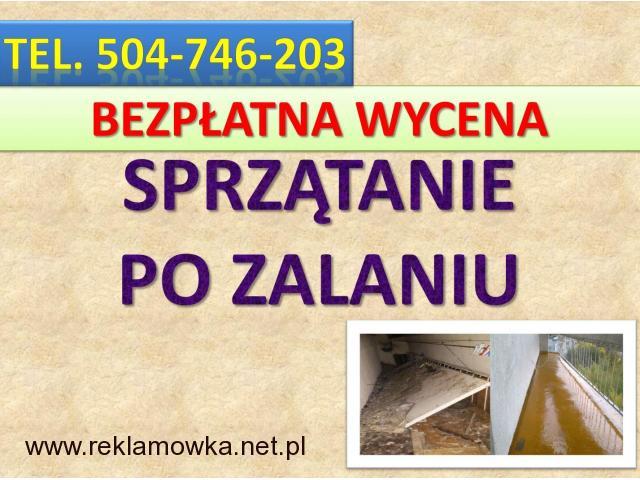 Dezynfekcja pomieszczeń, cennik tel. 504-746-203. usługi, Wrocław, sprzątanie  dezynfekcja po awarii - 2/2
