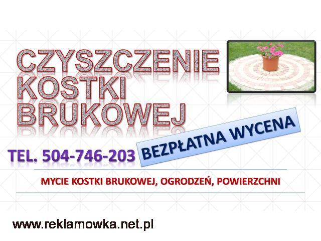 Czyszczenie i mycie kostki brukowej, cena tel. 504-746-203. Wrocław,Mycie ciśnieniowe, karcherem
