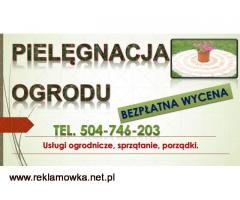 Utrzymanie ogrodów, cennik, tel. 504-746-203, pielęgnacja ogrodu, Wrocław, Prace ogrodnicze,Ogrodnik