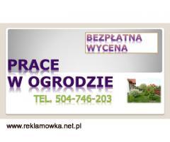 Sprzątanie ogródków działkowych, cena tel. 504-746-203. Wrocław.   Porządkowanie działek ogrodowych.