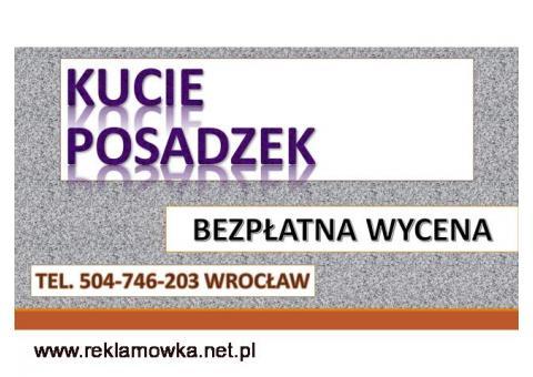 Wyburzenie ściany, cena Wrocław. tel. 504-746-203. Usługi młotem. Kucie betonu. Usługi młotem