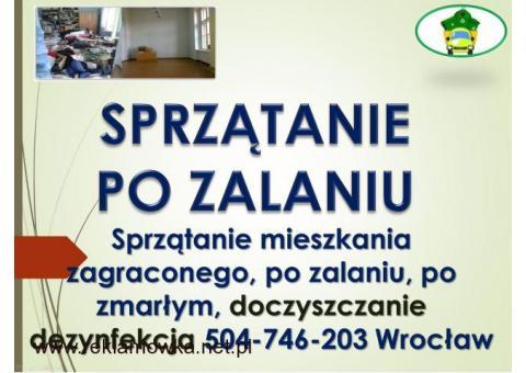 Sprzątanie specjalistyczne, cennik, tel. 504-746-203 Wrocław, usługi, zaniedbanych pomieszczeń.