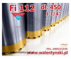 Wiertło 112 mm koronowe diamentowe, do betonu, Walentyński - Technika diamentowa