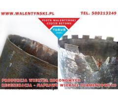 Regeneracja wiertła, naprawa, wiertło koronowe, wiertło diamentowe, otwornica Walentyński 500213249