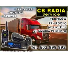 naprawa anteny cb, Strojenie,radia cb sprzedaż,montaż,serwis cb Lodz