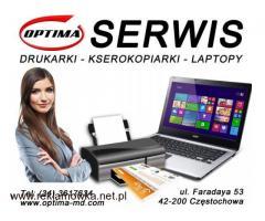 Serwis Drukarek HP Brother OKI Częstochowa - Optima-md