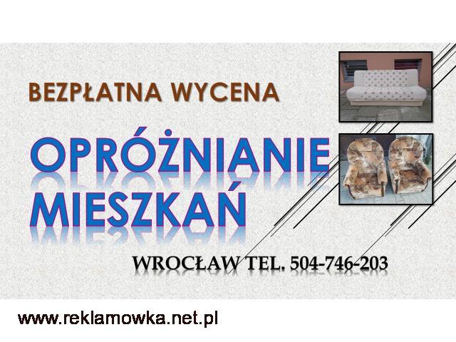 Demontowanie mebli, cena tel. 504-746-203. Demontaż, Wrocław. Utylizacja likwidacja, Wywóz mebli - 2/2