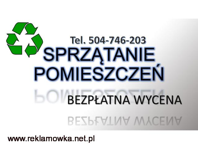Posprzątanie pomieszczenia, cena, Wrocław, tel. 504-746-203. Firma sprzątająca. Sprzątanie magazynów - 1/2
