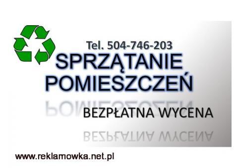 Posprzątanie pomieszczenia, cena, Wrocław, tel. 504-746-203. Firma sprzątająca. Sprzątanie magazynów