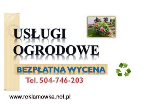 Renowacja ogrodów, cena, Wrocław, tel. 504-746-203, uporządkowanie ogrodu. Uporządkowanie działki,