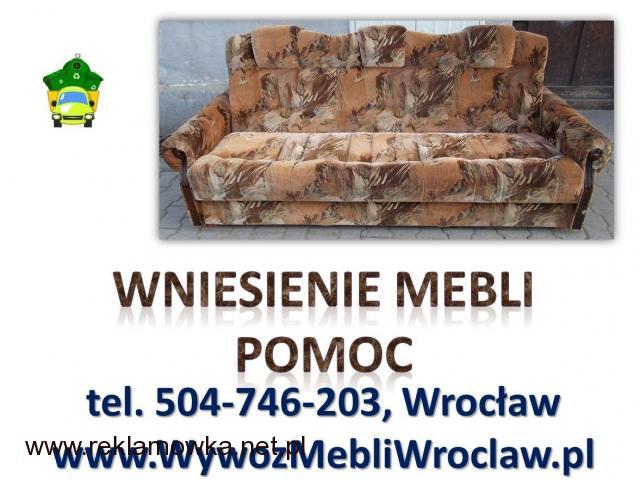 Usługi, wnoszenie cennik, tel. 504-746-203. Wrocław, wniesienie mebli, materiałów budowlanych, cena - 2/2