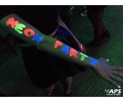 Oświetlenie Imprez - Neon Party, Fluo Party, UV