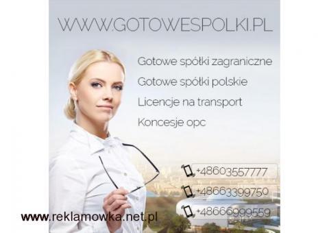 Gotowe spółki łotewskie, słowackie, włoskie, węgierskie