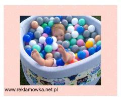 Suchy basenik BabyBall z piłeczkami dla dzieci - 1/2