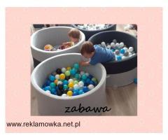 Suchy basenik BabyBall z piłeczkami dla dzieci - 2/2