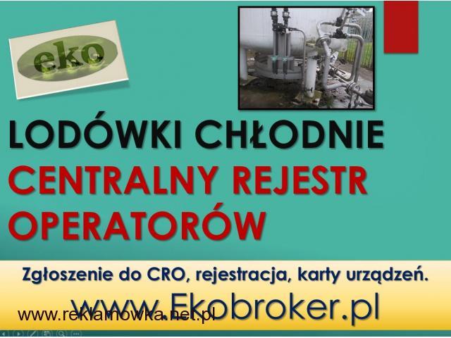 CRO, rejestracja, tel. 502-032-782, fgazy, klimatzacja, pompy ciepła,fgazy, zgłoszenie