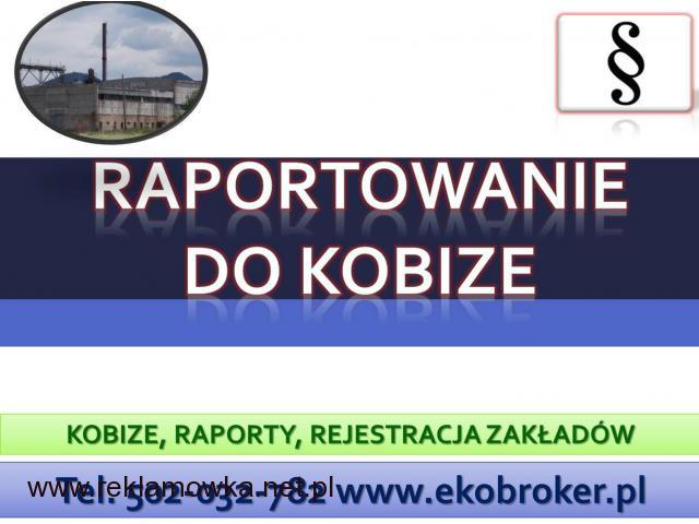 Raportowanie do Kobize, cena tel, 502-032-782, wykonanie zgłoszenia, 2017,2018