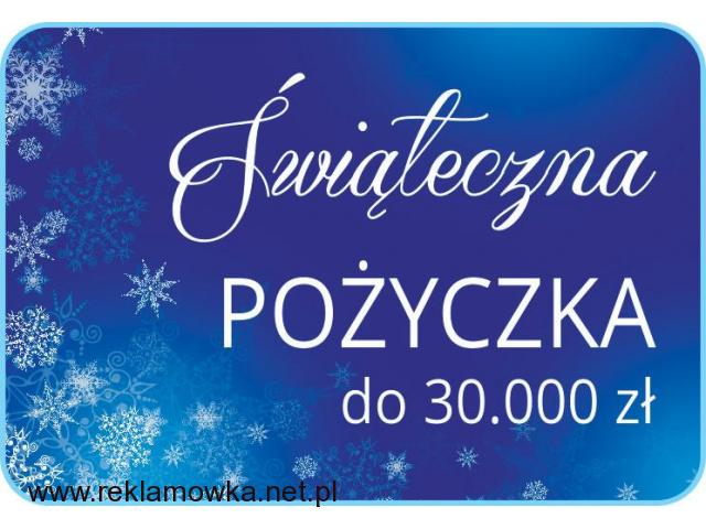 Lekka POŻYCZKA na świąteczne szaleństwo do 30.000 zł - 1/1