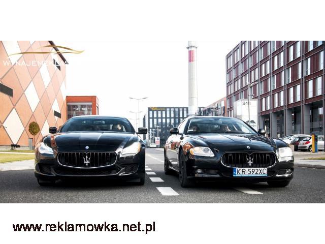 Wynajem Maserati Quattroporte VI generacji