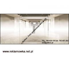Folie okienne Kraków -Folie wzory gradientowe,perła,152, mgła152,białe kwiaty92....Folie okienne
