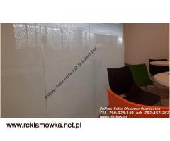 Folie gradientowe do dekoracji szyb -Folie sprzedaż -Mgła152, Perła152,Białe kwiaty92