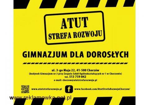 Gimnazjum dla Dorosłych za 0 zł !!!