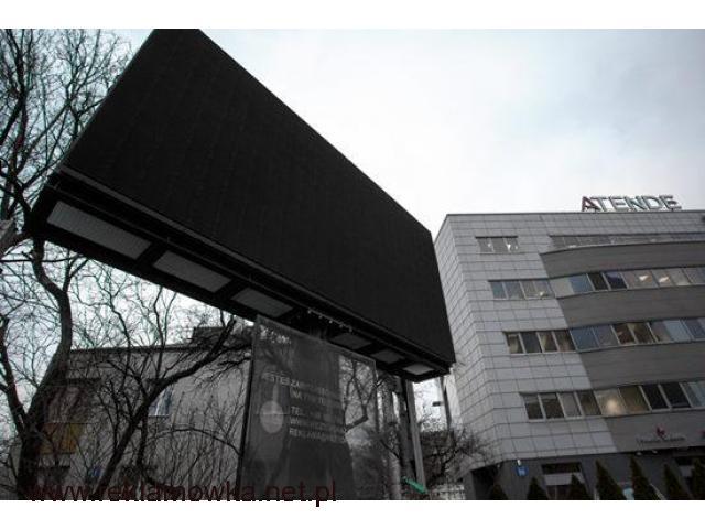 Telebim Ekran Reklamowy RGB LED screen Wyświetlacz 6x3m