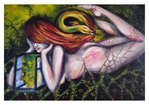 Sprzedam  obrazy olejne – Surrealizm