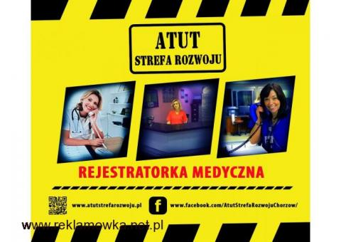 w sobotę 13-14.01 Kurs Rejestratorki  Medycznej :)