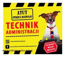 Technik Administracji bezpłatnie w ATUT Strefa Rozwoju !