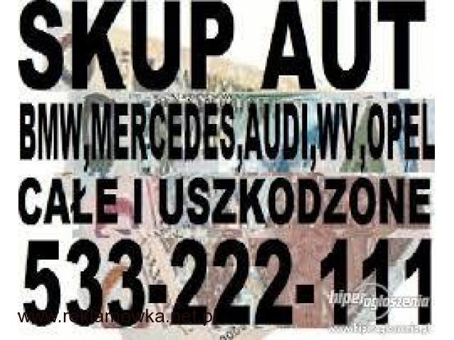 Skup Aut Warszawa Gotówka Każdy Stan Aut 507-333-555