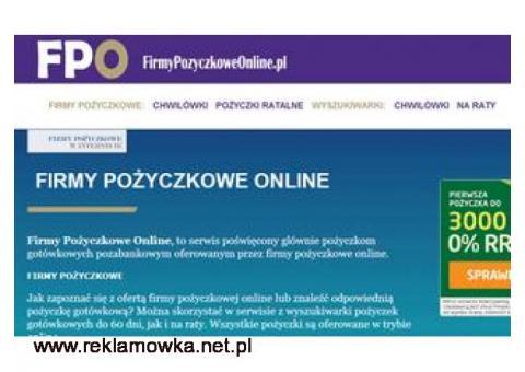 Firmy pożyczki pozabankowe online