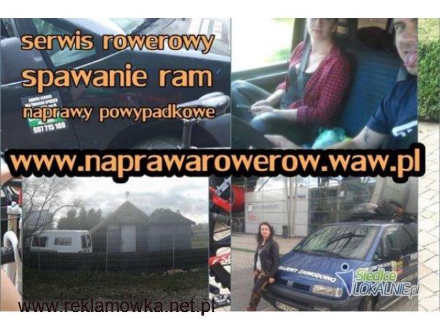 Naprawa rowerów z dojazdem do Klienta / Serwis rowerowy Warszawa