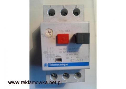 Wyłącznik silnikowy GZ1-M20 ; 13-18A