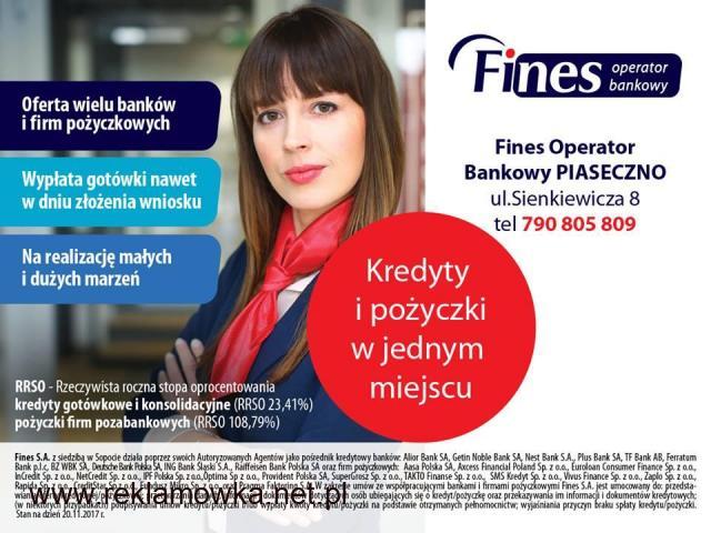 Kredyty gotówkowe i Leasingi - 1/1