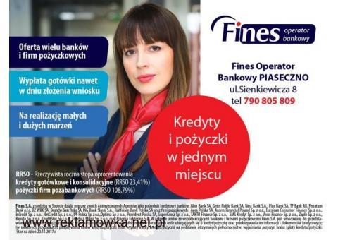 Kredyty gotówkowe i Leasingi