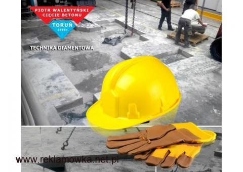 Pracownik Budowlany - Wiercenie i Cięcie techniką diamentową