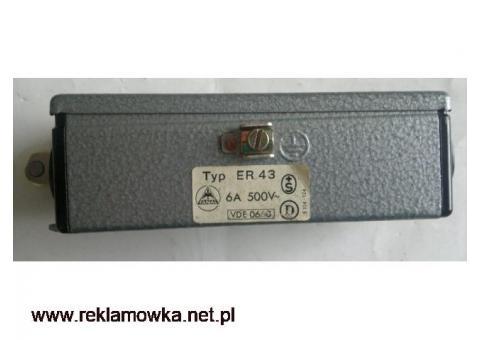 Wyłącznik krańcowy FANAL Typ E(RN)43 6A 500V~  styki rozwierne