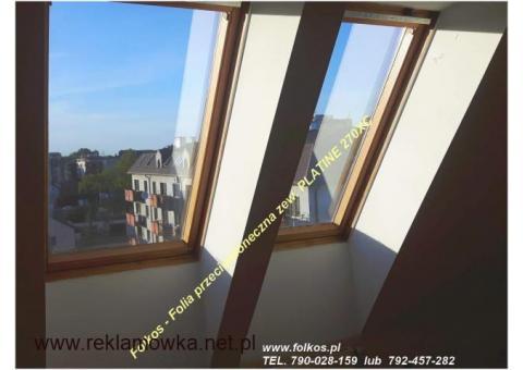 Słońce pod kontrolą -Folia termoizolacyjna Platine 270XC Folkos
