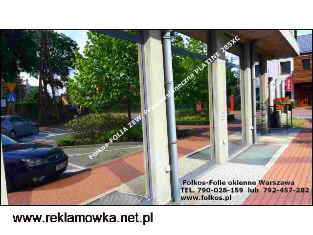 Folia Platine 285XC red. rażenia słonecznego 85% -Folie przeciwsłoneczna zewnętrzna - 1/2