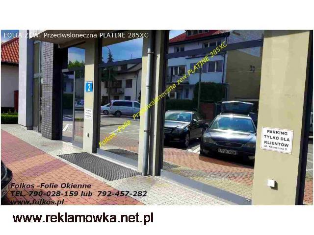 Folia Platine 285XC red. rażenia słonecznego 85% -Folie przeciwsłoneczna zewnętrzna - 2/2