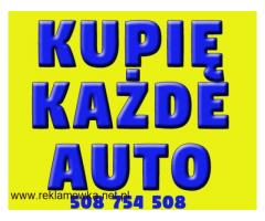 Kupię KAŻDE auto od rocznika 2000 ( osobowe , dostawcze )