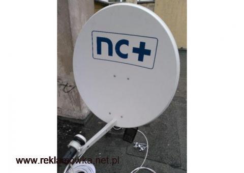 Serwis anten satelitarnych i naziemnych całodobowo